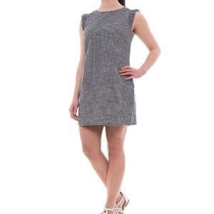 Cynthia rowly gingham ruffle dress